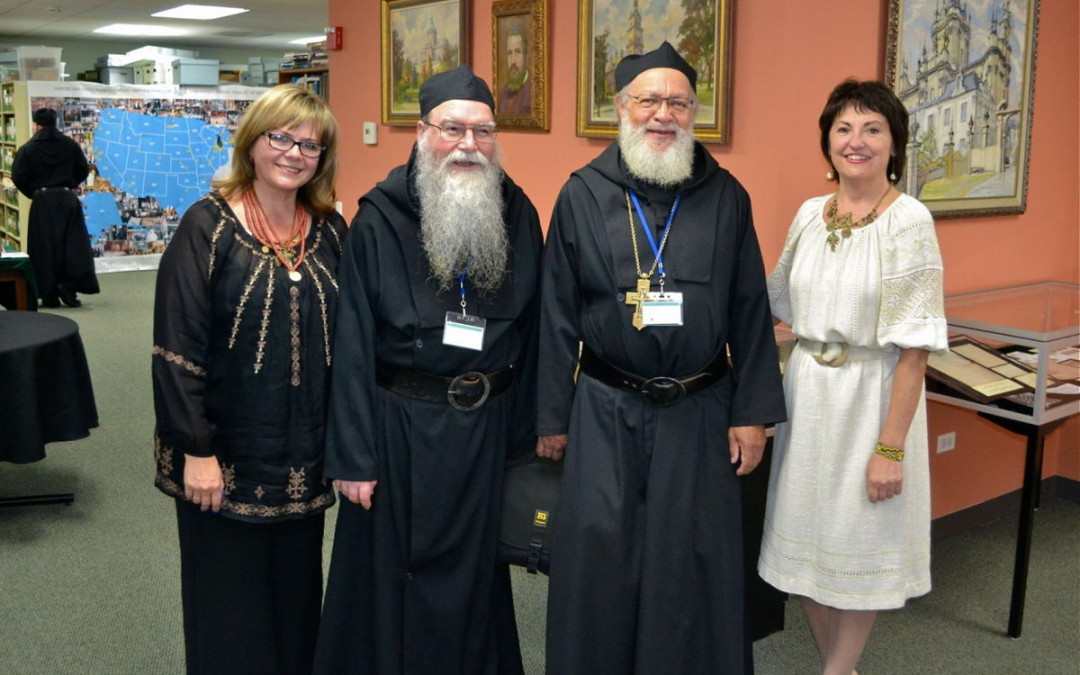 Ukrainian Greek-Catholic Clergy Visit