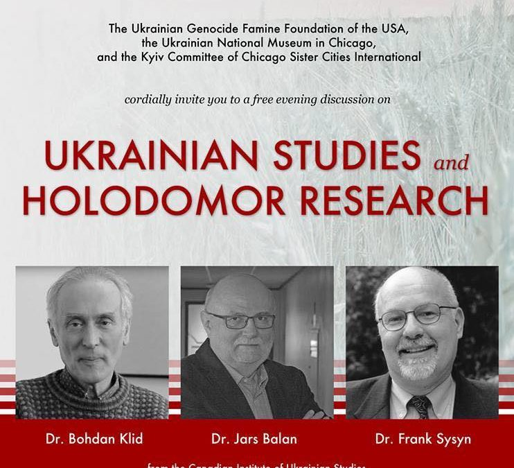 UKRAINIAN STUDIES and HOLODOMOR RESEARCH