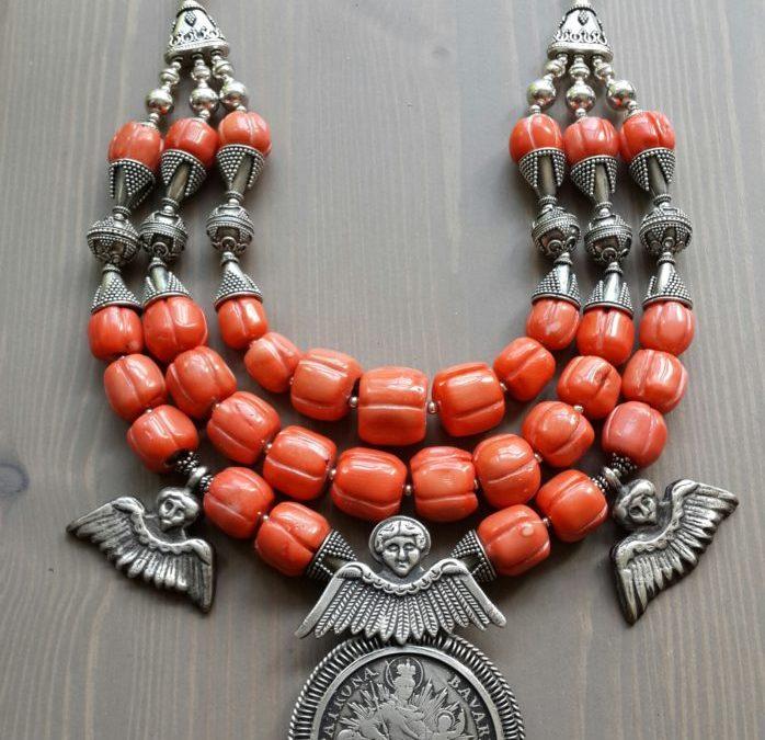 GEOGRAPHY – Ethnic Necklaces Designed by Slava Salyuk