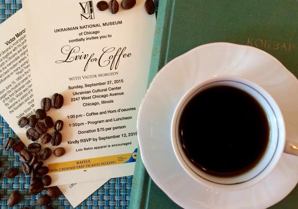 Join us for Coffee in Lviv