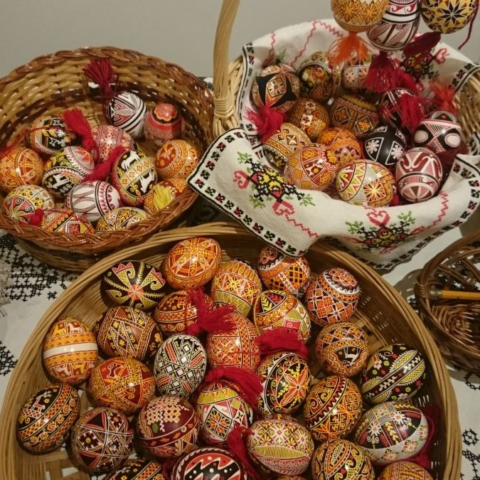 "Pysanka ""Ukrainian Easter Egg"" Workshop"