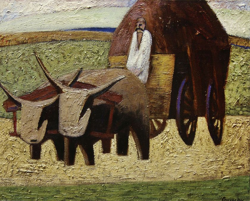 Exhibit continues through June 3 ~ Contemporary Art by Petro Sypniak, Lviv, Ukraine