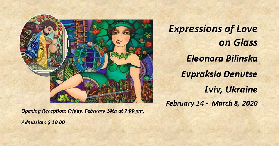 "New Art Exhibition ""Expressions of Love on Glass"""