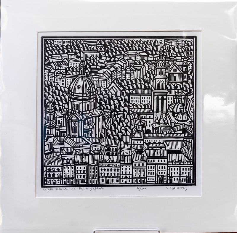 Bohdan Soroka: Rynok Square or Central Square in Lviv, Ukraine
