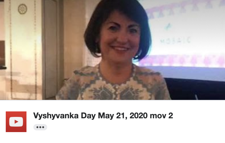 Happy Vyshyvanka Day