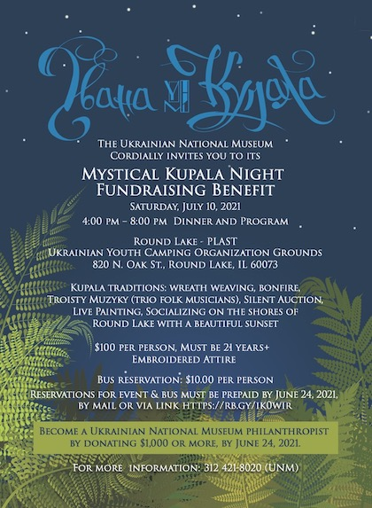 Mystical Kupala Night Fundraising Banquet